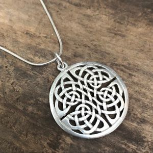 Jewelry - Sterling silver Celtic Knot necklace